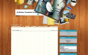 ArtNotes from ucoz templates