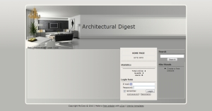 Architectural Digest from ucoz templates