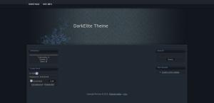 Dark Elite from ucoz templates